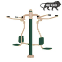 Mild Steel Outdoor Gym Equipment Pull Chair Exercise Machine