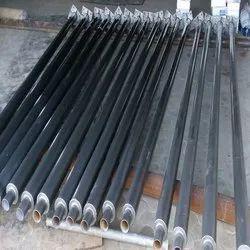 8 Mtr MS Tubular Pole