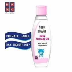 OEM or Private Label Baby Massage Oil with Natural Ingredients