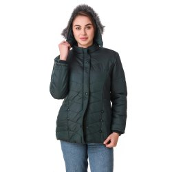 Green Woolen Jacket