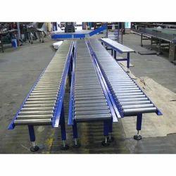 Ferron Equipment Stainless Steel Gravity Roller Conveyor