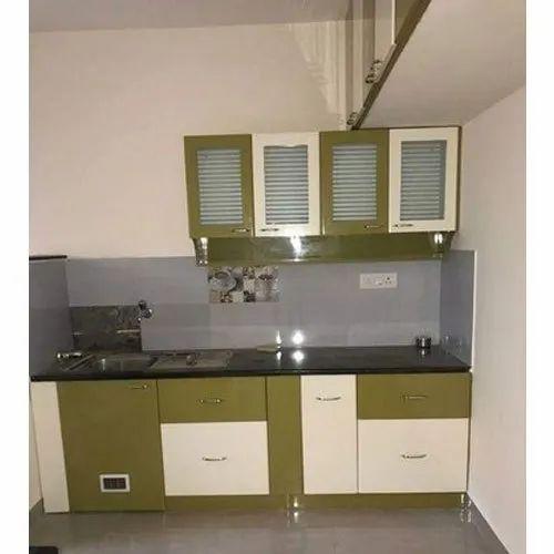 PVC Straight Laminated Modular Kitchen, Rs 75000 /unit ...