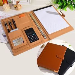 Box File Brown Conference Folder With Organizer, For Office