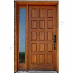 Solid Wooden Panel Door