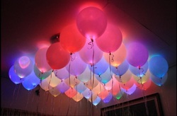 Multi Color LED Balloon, Packaging Size: Pack Of 5