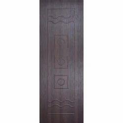 Polished Solid PVC Door