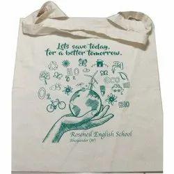 Printed Cotton Carry Bag