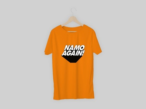 01799331 Election T-Shirt - Namo Again T-shirts Manufacturer from New Delhi