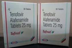 Tafnat Tablet,  Tenofovir Alafenamide (25mg)