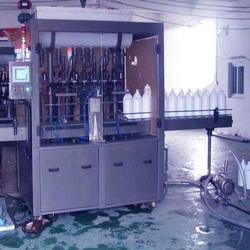 PACKWELL INDIA Automatic Agro Chemical Liquid Filling Machine