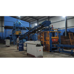 Concrete Brick Block Paver Vibro Machine
