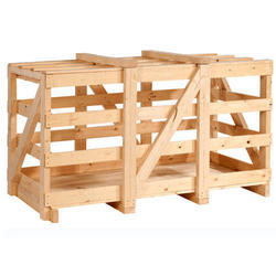 Termite Resistant Rectangle Pine Wooden crate sport, 5-15 mm, Box Capacity: 1-200 Kg