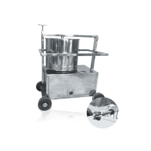 SS Trolley Rice Grinder