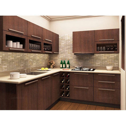 MDF Modular Kitchen at Rs 950/square feet | MDF Kitchen ...
