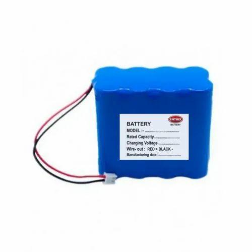ENTRIX Lithium Ion Battery, For Solar Light, Voltage: 11.1V,   ID: 21389762491
