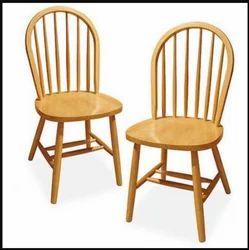 Modern Wooden Chair Set