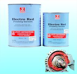 Electro Red Finishing Varnishes