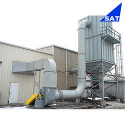 Single Stage Mild Steel Dust Collector, For Pharmaceutical industry
