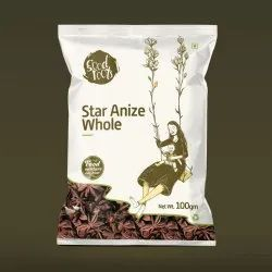 Aaha Impex Star Anize Whole, Packaging Type: Packet, Packaging Size: 1 Kg