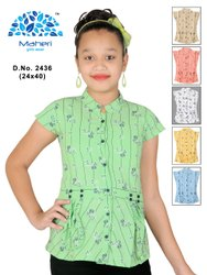 MAHERI Regular Fit GIRLS PRINTED SHIRT, Size: 24-40