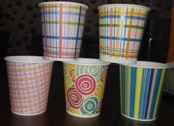 210 mL Eco-Friendly Disposable Printed Paper Glass for Event and Party Supplies