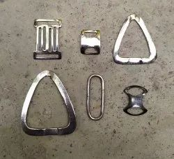 nickel Printed Iron Leather Accessories, Size: 2 Inch X 2 Inch