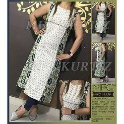 MFC 1350 A-Line Printed Flex Cotton Kurti