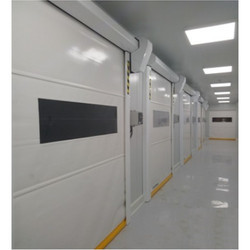 Clean Room High Speed Roll Up Door