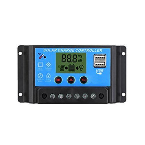Black Solar Charge Controller with LCD Display, Rs 1750 /piece Shri Laxmi  Traders   ID: 18672245391