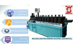 Multi Design Rolling Shutter Machine