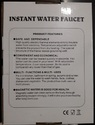 Instant Water Geyser (Tap)