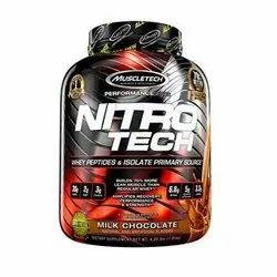 Muscle Building Muscletech Nitrotech Lean Mass Gainer, for Lean Muscle mass, Powder