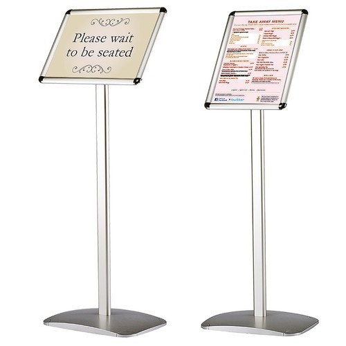 Adjustable Poster Stand For Advertising Size A4 A3 Rs 2800