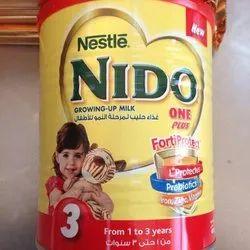Nestle Nido Milk Powder, Packaging Size: 400g, 900g