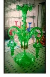 Glass Vintage Epergne, For Home, Size/Dimension: 4 Inch