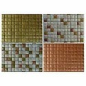 Metallic Glass Mosaic Tiles