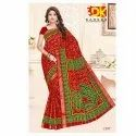Red Casual Wear Traditional Gharchola Saree, With Blouse
