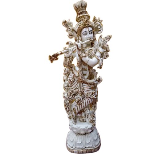 Polyresin Lord Krishna Statue