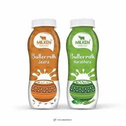 Badam Milk Shake Bottle