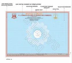 20085 Mark Sheet / Grade Cards