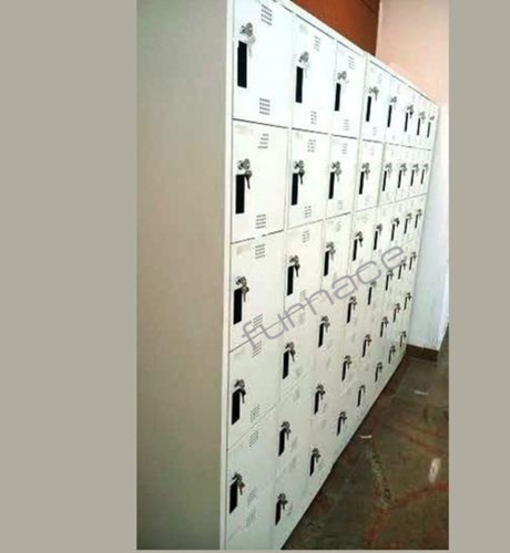 Mild Steel 1-12 feet (Total Height ) Staff Phone Lockers