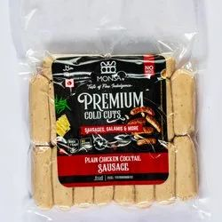 Monsa Foods 9 Months Chicken Plain Cocktail Sausages, Packaging Type: Vacuum Packed, Packaging Size: 1000 Gms