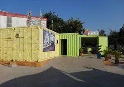 Prefabricated Portable Restaurant Canteen Cabin