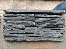 BLACK WATERFALL STONE LEDGER PANEL