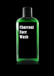 Black Herbal Charcoal Face Wash, Packaging Size: Bottle