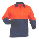 Orange And Blue Industrial Workwear Uniform, Size: Large