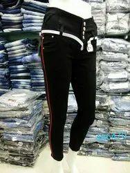 Stretchable Female Ladies black Denim Jeans, Packaging Type: Packet