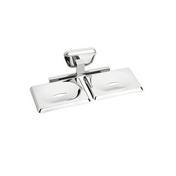 Chrome Plated Double Soap Holder