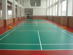 PU / PVC Vinyl Indoor Sports Flooring