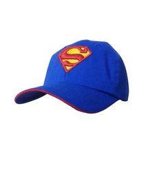 Supermen Blue Cotton Baseball Cap